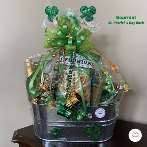 st patricks day gift basket the staging place